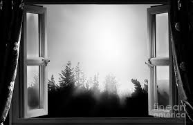open window at night.  Open Window Photograph  Open At Night Bw By Simon Bratt Photography LRPS Intended Fine Art America