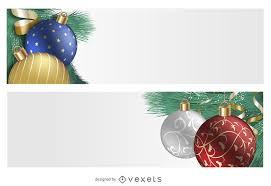 christmas ornament banner. Exellent Christmas 3D Ornament Christmas Banner Set To Ornament Banner M