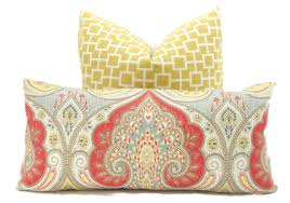 beautiful decorative lumbar pillows for your lounge furniture decor unique yellow grey decorative lumbar pillows