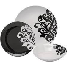 buy 12 piece porcelain damask dinner set black at argoscouk visit argoscouk to shop online for crockery argos pc living room set