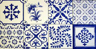 Blue And White Decorative Tiles Erin's Blue White Decorative Accent TilesBacksplash Mural 57