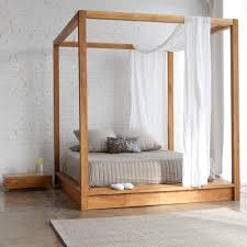 Bedroom White Canopy Over Bed Canopy Tent For King Size Bed Daybed ...