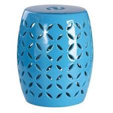 blue garden stool. Modren Blue Abbyson Tristen Ceramic Garden Stool Throughout Blue