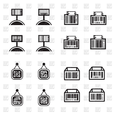 Barcode Design Price Tag Set And Barcode Design Set Stock Vector Image