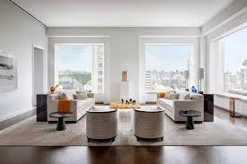 a living room by deborah burke at 432 park avenue in new york city photo scott frances