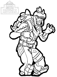 You can search over 6.000 coloring pages in this huge coloring collection that you can save or print for free. Fortnite Battle Royale Rex Fortnite Battle Royale Kids Coloring Pages