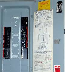 troubled houses electrical award winner ashi home inspector federal pacific electric panel cover uncapped openings exposing energized components c 2013 hankeyandbrown