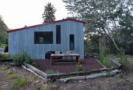 shed tiny house. Shed- Modern Tiny House On Wheels With Space-saving Interiors_21 - HomeCrux Shed E