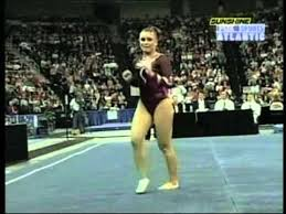Alexis Brion - 2004 SEC Championships Floor Exercise - YouTube