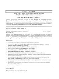 Gallery Of Example Job Resumes