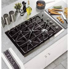 ge profile 30 built in gas on glass cooktop with power boil burner
