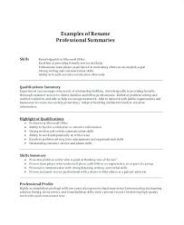 Good Summary For Resume Impressive Resume Statement Examples Best Of Good Summary At Example Engineer