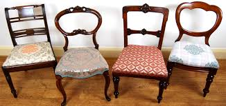 we have various sets of dining chairs in stock and regularly add new items