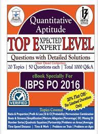ibps po mains quantitative aptitude pdf