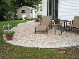 Backyard Stone Patio Design Ideas U2014 Unique Hardscape Design  Long Backyard Patio Stones