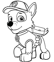 Awesome Paw Patrol Coloring Pages Free Coloring Book
