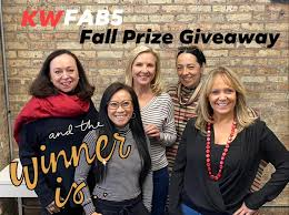 The lucky winners of the KWFAB5 Fall... - KWFab5 at Keller Williams  Chicago-Lincoln Park
