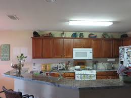 to replace kitchen fluorescent light