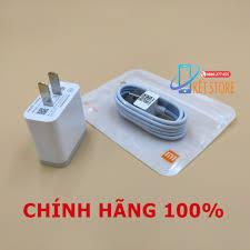 Bộ sạc + cáp Xiaomi Mi 8 Quick Charge 3.0 18W chính hãng 100%