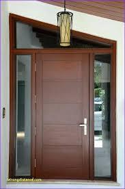Modern Double Doors Door Designs With Steel Handles For Houses