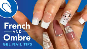 French Gel Nail Designs Create Quicker French And Ombre Gel Extensions With Xtens