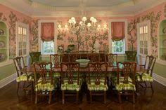 traditional dining room by w design cleveland ohio i love chinoiserie wall coverings