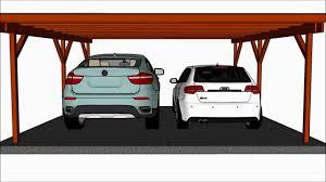 wooden 3 car carports49 car