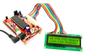 buy 40 pin pic development board lcd low cost in lcd interface