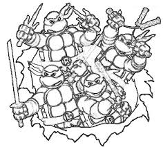 Tmnt coloring page to print. Teenage Mutant Ninja Turtles Coloring Pages Print Them For Free