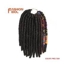Fashion Idol 12inch 12strands Faux Locs Crochet Braids Hair