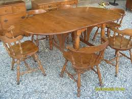 drop leaf dining table and 6 chairs. ethan allen baumritter maple double drop leaf dining table \u0026 6 chairs: $350 - santa clarita classifieds and chairs n