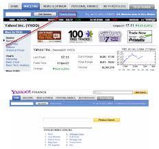 Yahoo Upgrades Yahoo Finance Search