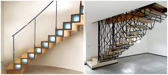 trendy contemporary stairs
