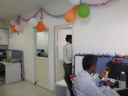 entire office decked. OFFICE DECKED UP FOR DIVALI - Pavani Engineers India Entire Office Decked
