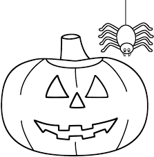 Small Picture Spider Hanging on His Spider Web Coloring Page NetArt