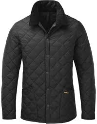 Men's Quilted Jackets | Designer Quilted Jackets | Country Attire & Barbour Heritage Men's Liddesdale Quilted Jacket - Black MQU0240BK11 Adamdwight.com
