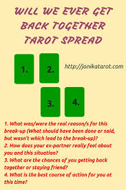 will we ever get back together tarot spread