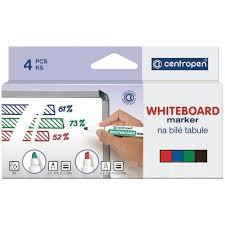 <b>Набор маркеров</b> для белых досок <b>Centropen</b> 8559 4цв ...
