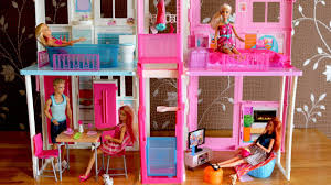 dolls furniture set. Barbie Dolls Living Room Kitchen Dollhouse Furniture Set And Dreamhouse 芭比豪宅 I
