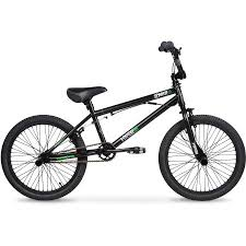 20 hyper spinner pro boys bmx bike black green walmart com
