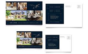 home for sale marketing flyers and hand outs real estate postcards templates design examples
