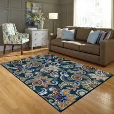 better homes and gardens paisley berber printed area