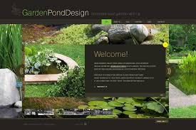 Small Picture Garden Design Flash Template 29552
