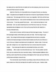 essay a rose for emily keith dilorenzo english  image of page 3