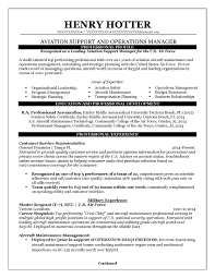 ... Excellent Aviation Resumes Resume Examples Example And Free Maker ...