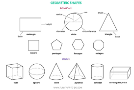 Polygon Shapes Worksheets | 3d shape outlines the outlines of 3 ...