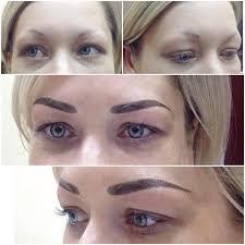 что лучше волосковый татуаж или растушевка фото до и после