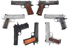 1911 Pistol Comparison Chart Nice Price 1911 Shootout