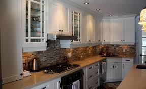 transitional kitchen ideas. Fetching Transitional Kitchen Design Ideas : Good Looking Decoration With Stone Tile Backsplash T