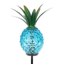 exhart solar pineapple 2 42 ft blue
